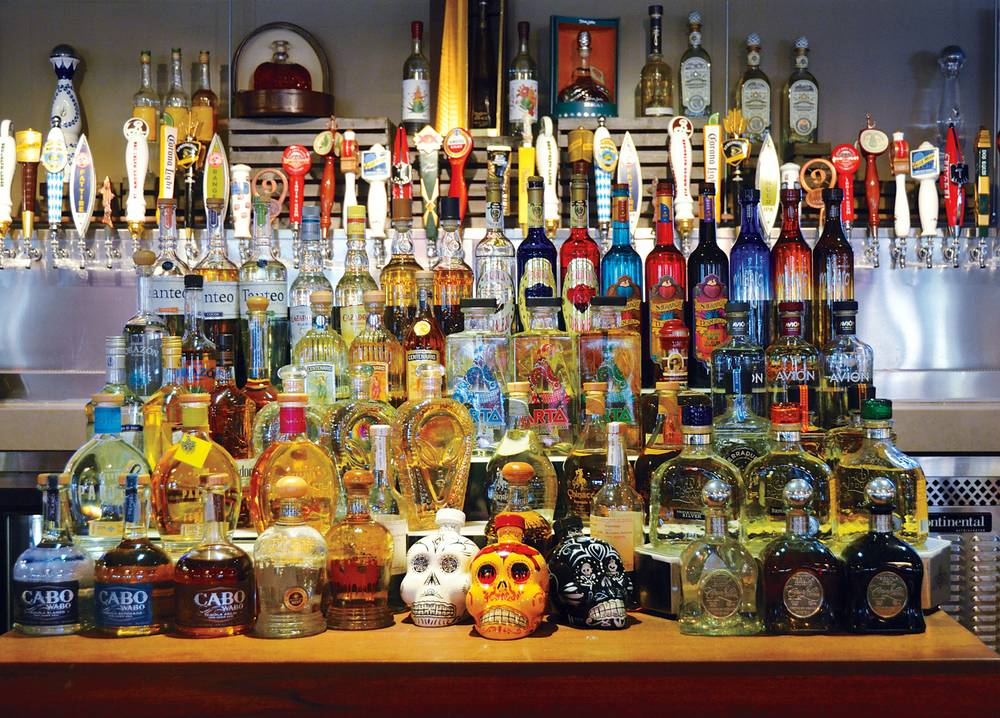 Sample 100 tequilas at the Commissary (though maybe not in one ...