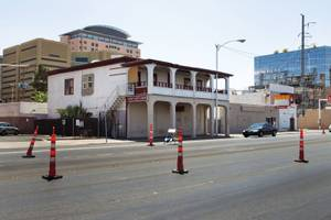 The Victory Hotel opened in 1910, just five years after the land auction that established Clark's Las Vegas Townsite.