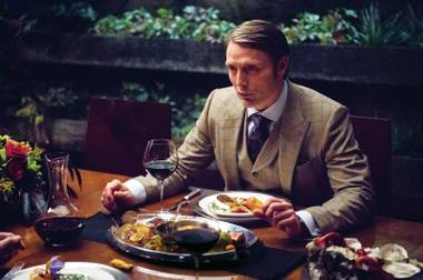 Meals to die for: Chef José Andrés comes up with every dish served by serial killer Hannibal Lecter (Mads Mikkelsen, pictured here) on Hannibal.