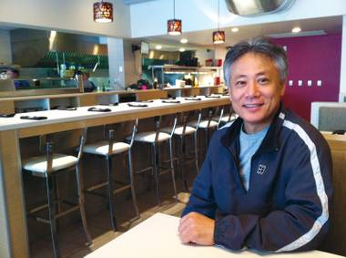 Takashi Yagahashi, who opened Okada for Steve Wynn in 2005, is now building his own restaurant empire in Michigan.