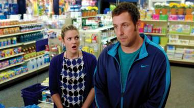 Sandler has once again used moviemaking to provide himself a paycheck and a vacation.