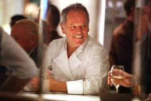 Iconic chef Wolfgang Puck is still big on Vegas.