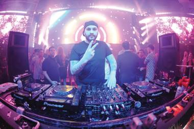Steve Angello performs in 2014.