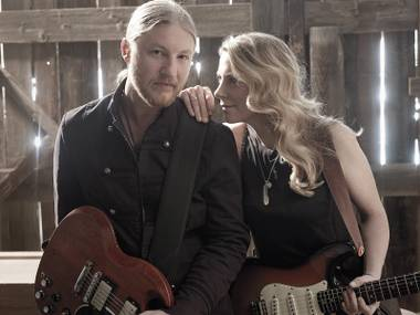 The Tedeschi Trucks Band is led by husband-and-wife musicians Derek Trucks and Susan Tedeschi.