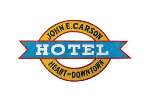 The Carson Hotel on Sixth Street in Downtown Las Vegas.