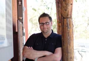 Michael Stratton, the new Bunkhouse's GM.