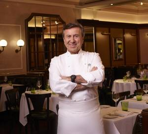 Daniel Boulud is back.