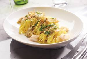Chef David Middleton's favorite <em>linguine de sud</em>.