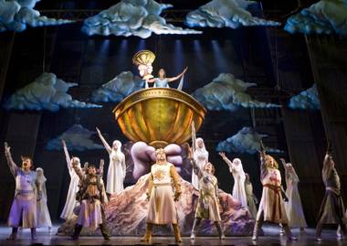 Spamalot—seen here when it played at the Wynn Las Vegas in 2008—is here to kick off Super Summer Theatre's season.