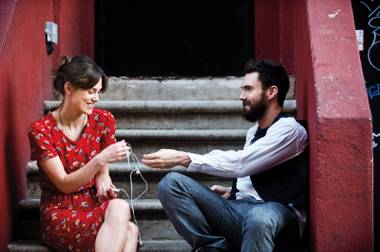 Keira Knightley and Adam Levine swap favorite songs in the mostly winning Begin Again.