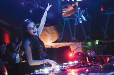 Bambi's back: Eva Shaw spins at Hakkasan this weekend.