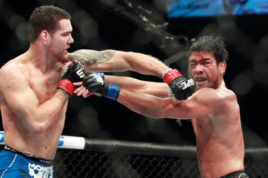 His body may have taken a pounding in their five-round match, but Chris Weidman looked mighty impressive in his victory over Lyoto Machida at UFC 175.