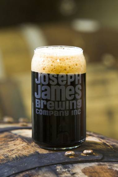 Joseph James has hit a home run with this near-perfect dark rye IPA, Rye'd N Dirty.