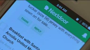 The Nextdoor app can bridge the gap between online connections and the real world.