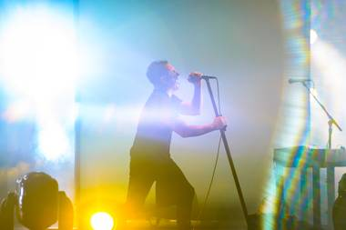Nine Inch Nails' Trent Reznor performs July 19 at Planet Hollywood's Axis Theater.