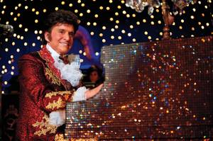 Michael Douglas as Liberace in HBO's <em>Behind the Candelabra</em>.