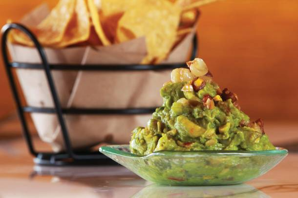 Start your Mercadito experience with the bacon, hominy and habanero-fueled tocino guacamole.