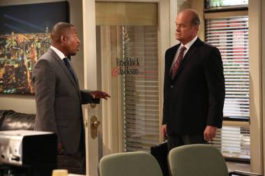 Martin Lawrence and Kelsey Grammer star in Partners.