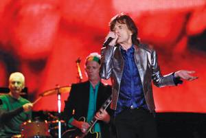 The Rolling Stones at the 2014 Lisbon installment of Rock in Rio.