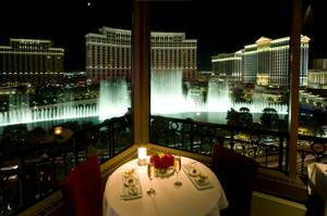 Eiffel Tower Restaurant remains one of the most romantic destinations on the Strip.