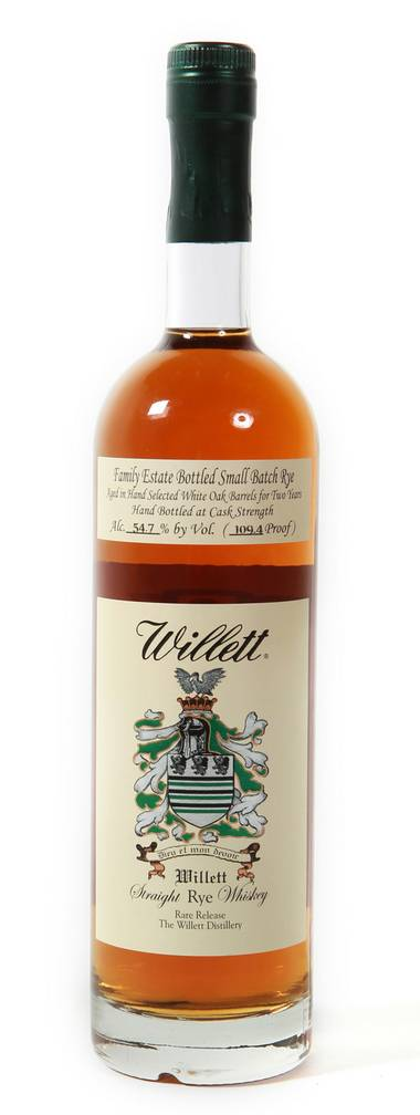 "Willett's first original product in decades, a Small Batch 2-Year-Old Rye, is certain to make several ""best of"" lists next year."