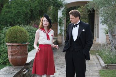 Despite some seriously cute faces from Emma Stone (and some seriously dour ones from Coin Firth), there really isn't much magic in Woody Allen's newest comedy, Magic in the Moonlight.