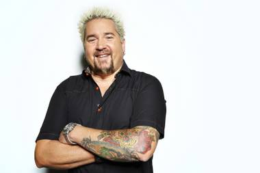 UNLV's Chef Artist Event Management course has featured celebrity chefs like Guy Fieri.