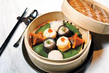 Dim sum at Hakkasan — Just one of the tasty treats available as part of Restaurant Week.