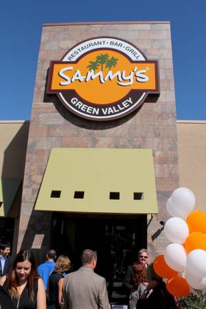 Sammy's Restaurant & Bar is partnering with Simi Winery.