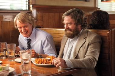 Owen Wilson and Zach Galifianakis star in Are You Here.
