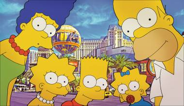 D'oh! Both the family residence and the Kwik-E-Mart from The Simpsons have come to life in the Las Vegas Valley.