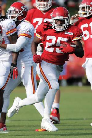 Kansas City Chiefs' Jamal Charles