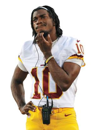 A puzzlement: How does RGIII feel about his team's controversial name? So far, he hasn't said.