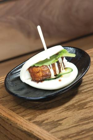 Jinya's pork belly bun.