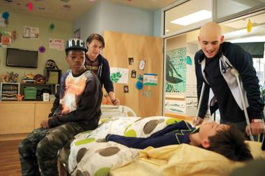 By the end of the pilot, the teens of Red Band Society have all bonded (and developed at least one love triangle), but their illnesses seem no more life-threatening than a bad day at high school.