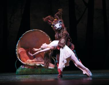 Nevada Ballet Theatre kicks off its season in with Act 1 of Shakespeare's carnivalesque classic Midsummer Night's Dream.