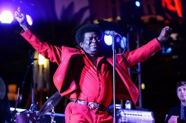 Charles Bradley, performing September 18 at the Cosmpolitan's Boulevard Pool.