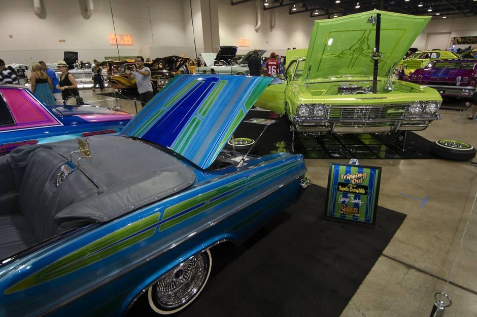 Lowrider Magazines Las Vegas Super Show Cashman Center Las - Lowrider car show las vegas