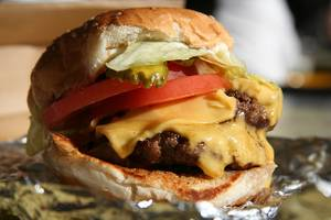 Five Guys Burgers & Fries is among the new restaurants opening this month at Downtown Summerlin.