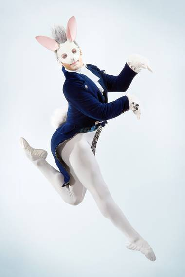 The Las Vegas Contemporary Dance Theater, Bernard Gaddis and Martin St. Pierre combine for an unforgettable night of ballet based on Alice's Adventures in Wonderland at Reynolds Hall this weekend.