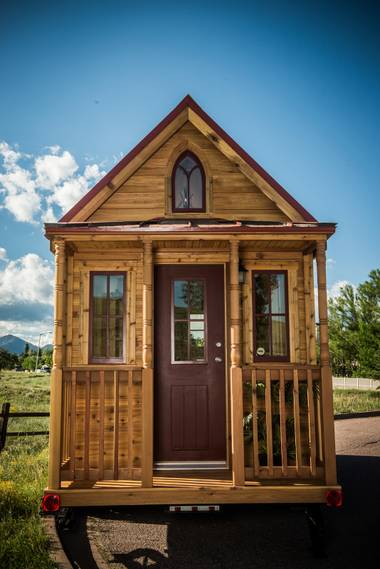 The Elm 24 Horizon, one of 24 different floor plans by Tumbleweed Tiny House Company.