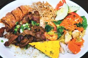 Looking for a combo plate with a bit of everything? Nem Nuong Bistro has you covered.