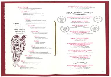 "The UNLV Library's Special Collections' digital collection ""Menus: The Art of Dining,"" includes over 300 menus from Las Vegas restaurants."