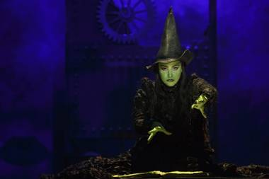 Wicked begins a month-long run at the Smith Center October 8.