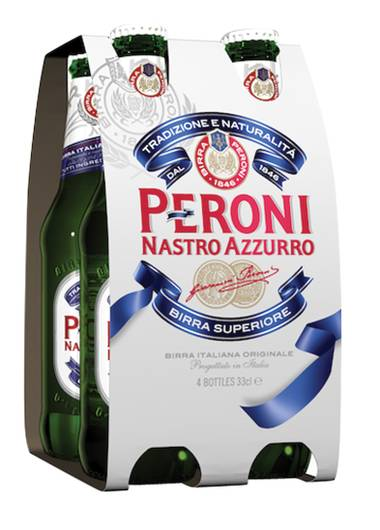 Peroni is most popular on the west side of the Valley, according to sales at Lee's Liquor.