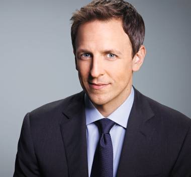 Seth Meyers brings the laughs to the Chelsea on October 11.
