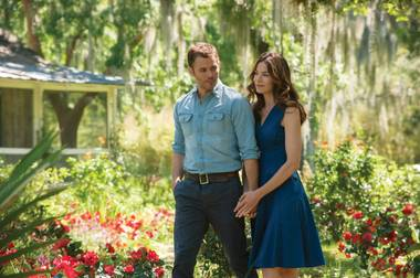 The Best of Me stars James Marsden and Michelle Monaghan.