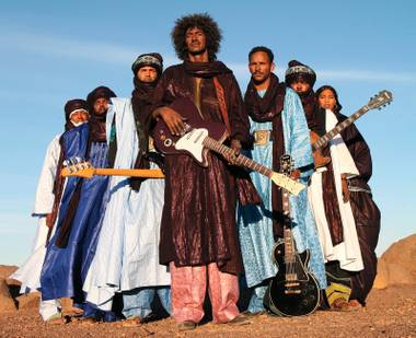Tinariwen is ready to give Vegas one of its more unique shows in some time.