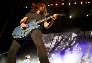 From their 9th-grade repertoire to hits from the past two decades, Foo Fighters rocked Las Vegas.