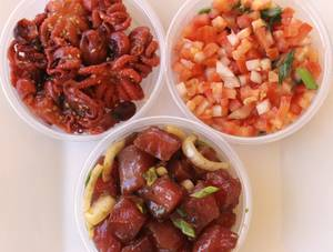 Get a little bit of everything at Poke Express.